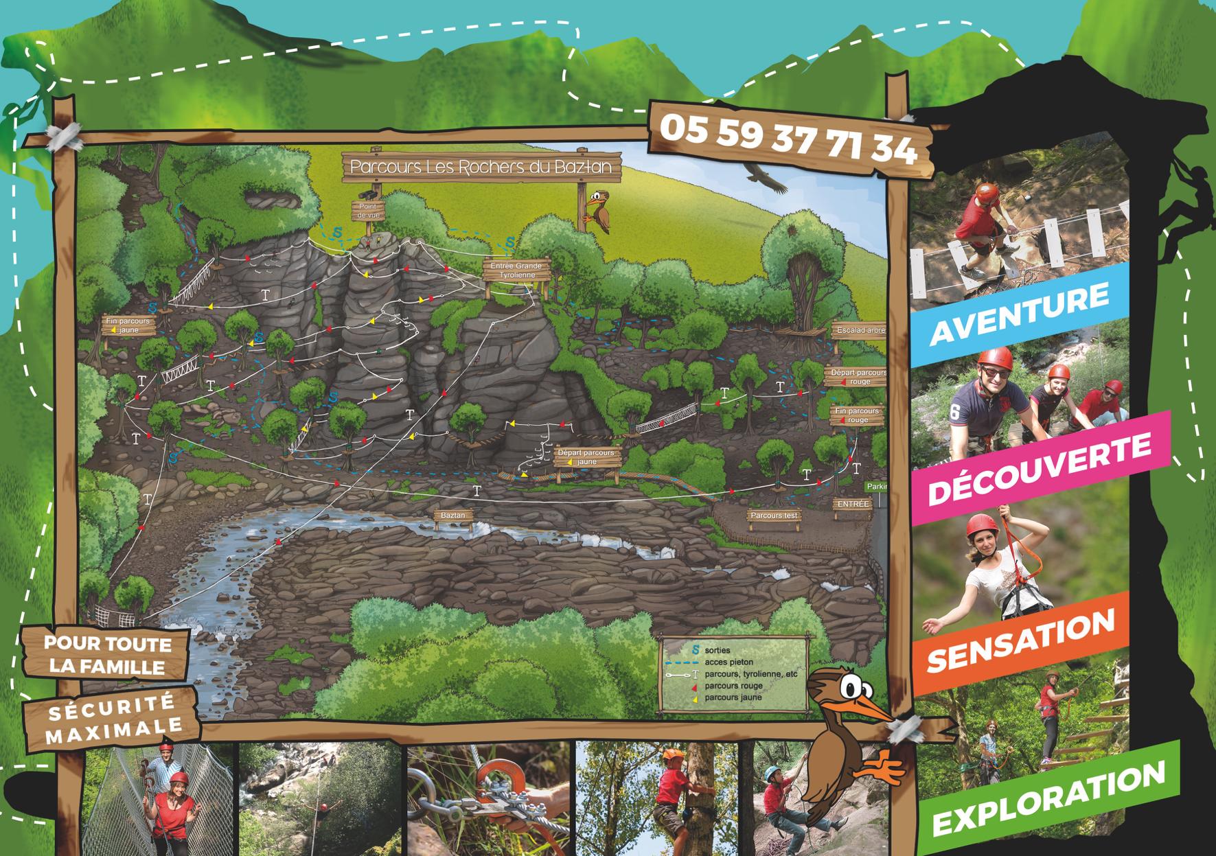Brochure parc aventure