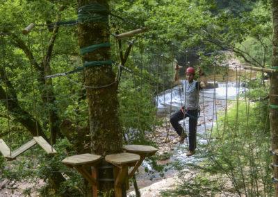 Parc Aventure - Pays Basque - accrobranche- parcours dans les arbres- bidarray