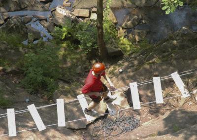 Parc Aventure - Pays Basque - parcours- bidarray